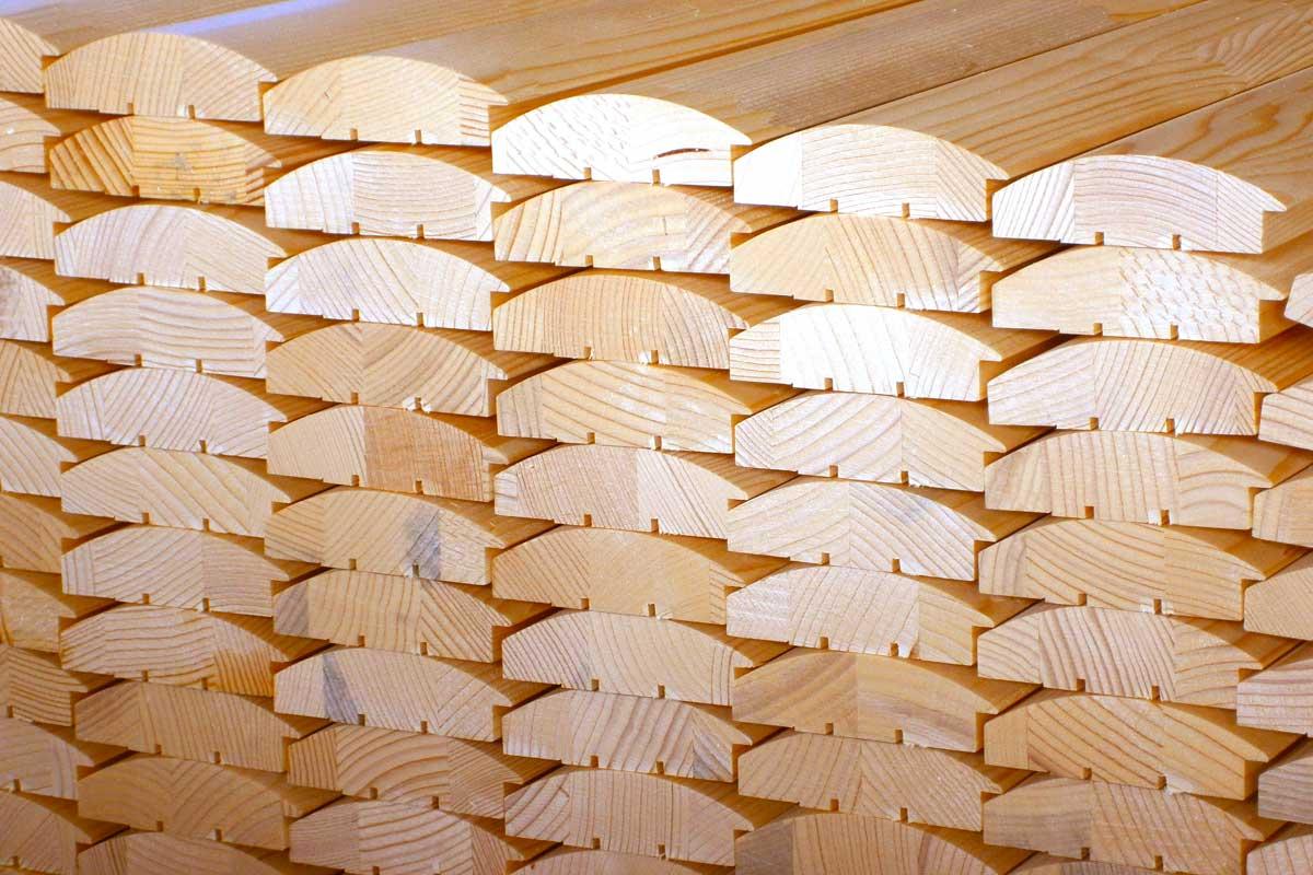 Profili in legno per falegnameria e cornici