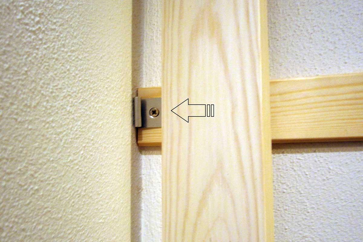 Montaggio perline in legno decking nemus legno for Perline in legno per pareti prezzi