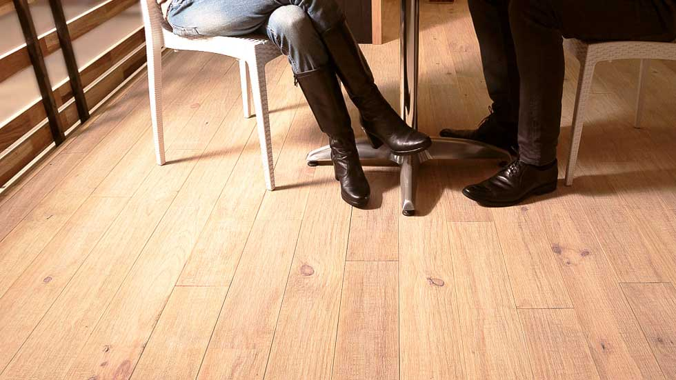 Pavimenti in legno per terrazzi e balconi