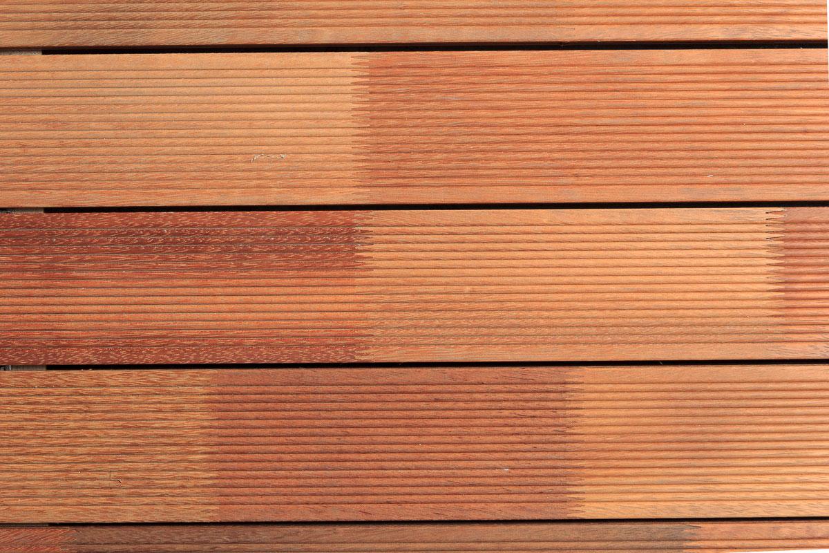 Listone Finger Joint in legno Tatajuba