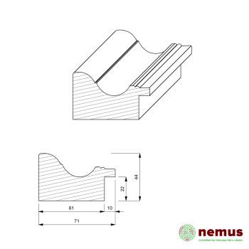 Profilo cornici 0227 10