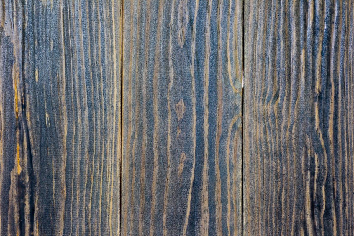 Rivestimento in legno con effetto onda