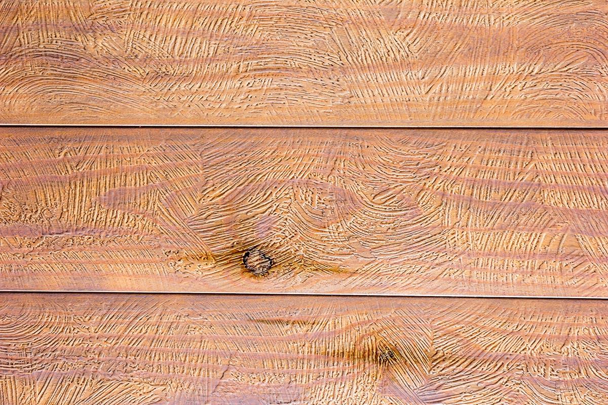 Rivestimento in legno con effetto piuma