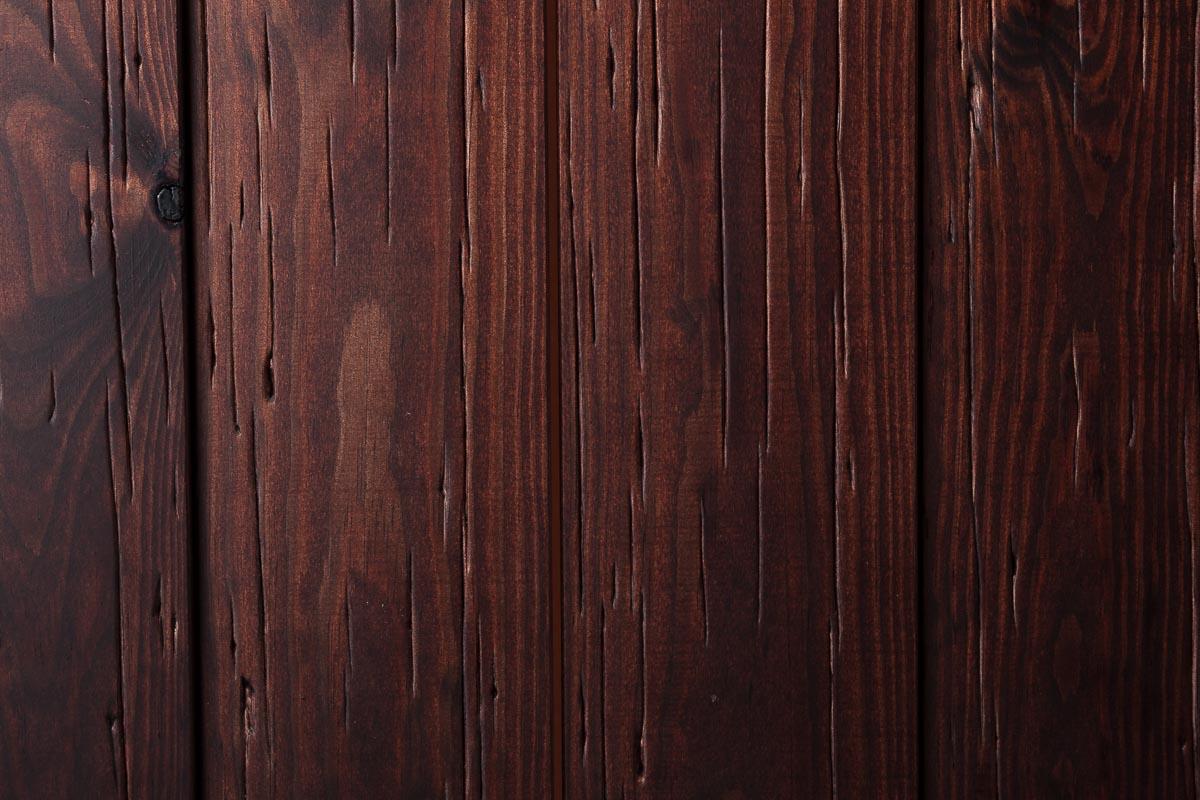 Rivestimento in legno con effetto taglio