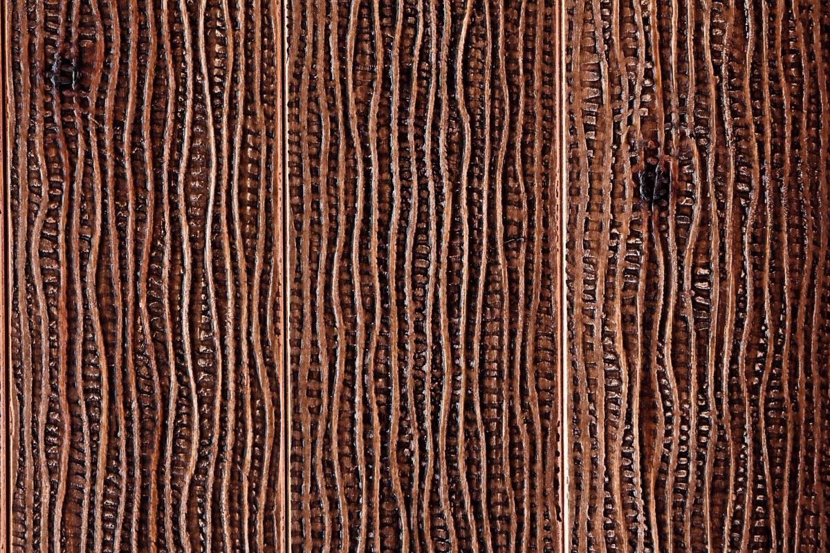 Rivestimento in legno con effetto tela